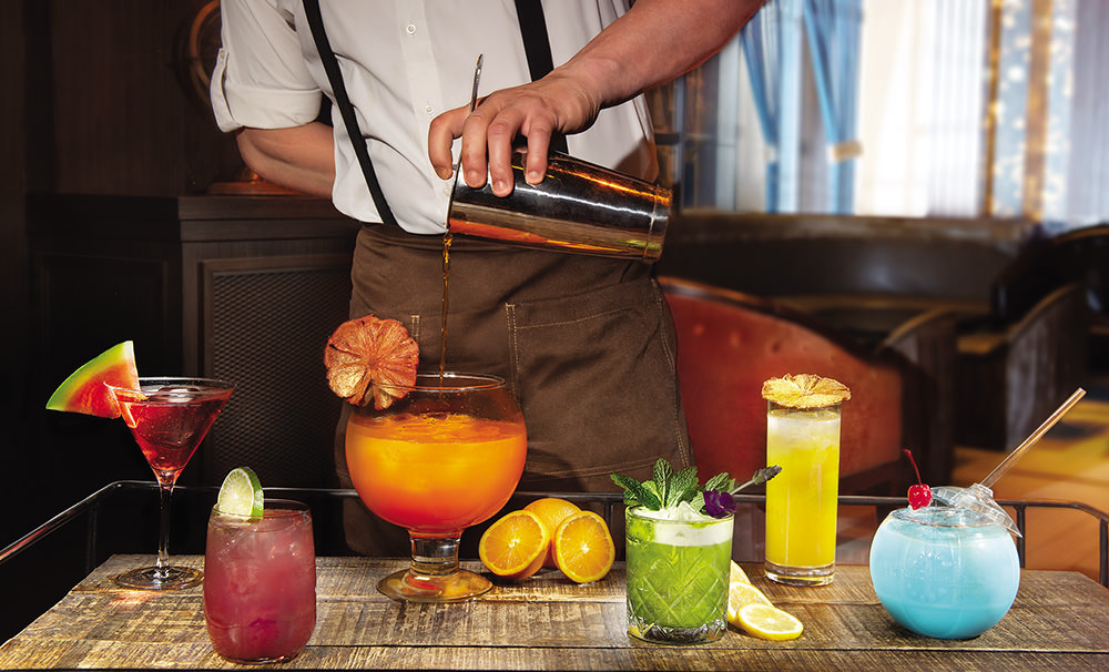 Sip the Rainbow Colorful craft cocktails - Caesars Player-full