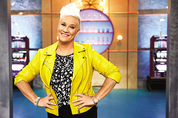 Chef Anne Burrell's new Food Network show Vegas Chef Prizefight