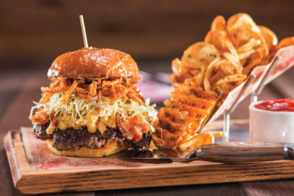 Guy Fieri's Vegas Kitchen+Bar_Burger
