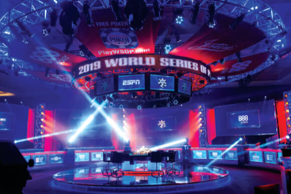 Money Bracelet Chips ESPN set 2016 World Series of Poker
