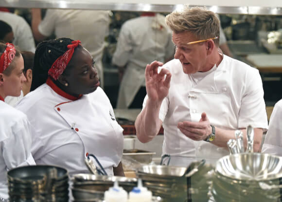 Hels Kitchen - Gordon Ramsay