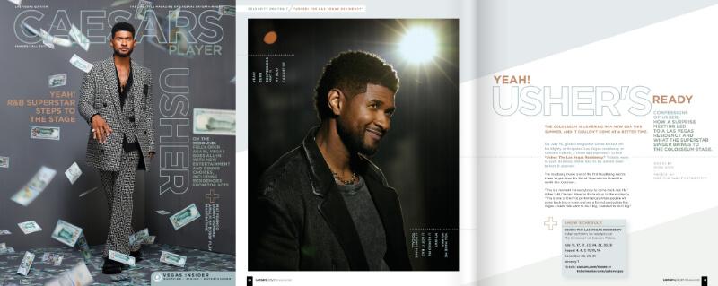 Caesars Player - Yeah! Usher's Ready